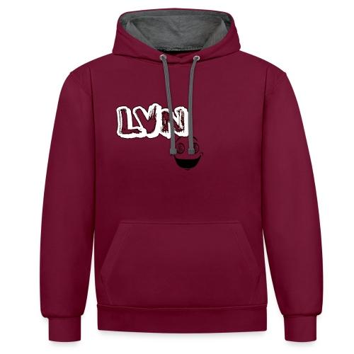 LoGoTest - Contrast hoodie
