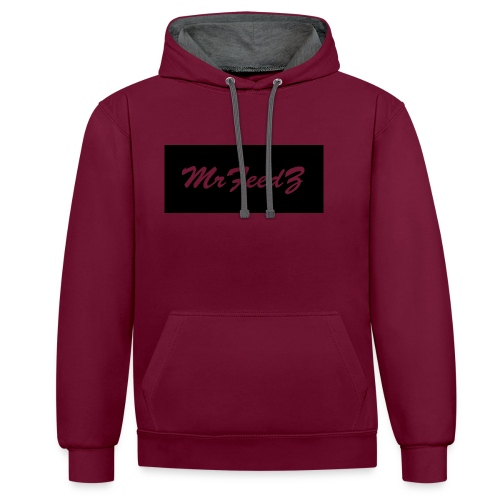 Apparel_design2 - Contrast Colour Hoodie