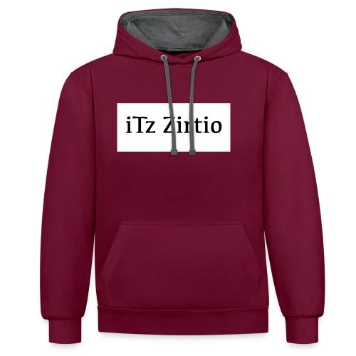 zirt - Contrast Colour Hoodie
