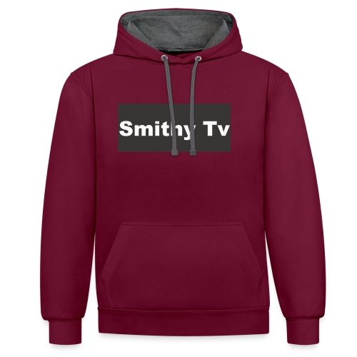 smithy_tv_clothing - Contrast Colour Hoodie