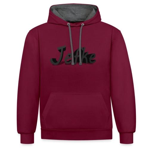 Jefke - Contrast Colour Hoodie