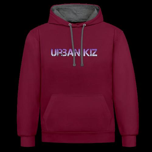 Urban Kiz - Original Style - Felpa con cappuccio bicromatica