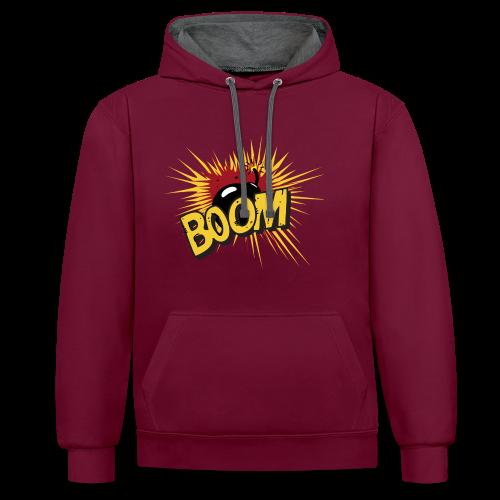 BOOM ! - Sweat-shirt contraste