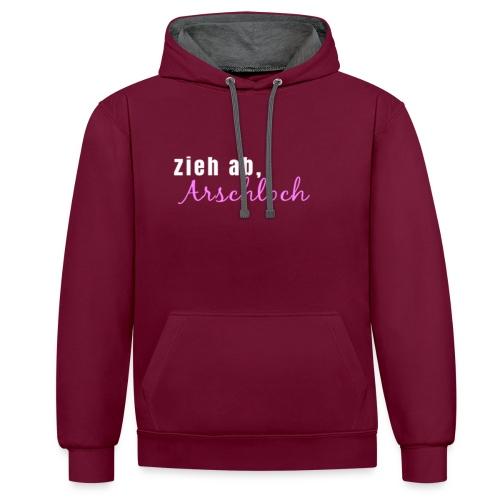 ziehab - Kontrast-Hoodie