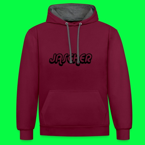 Jasckermerch1 - Contrast Colour Hoodie