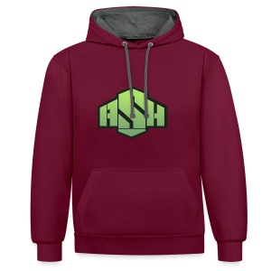 SxAshHowl,s Youtube merch - Contrast Colour Hoodie