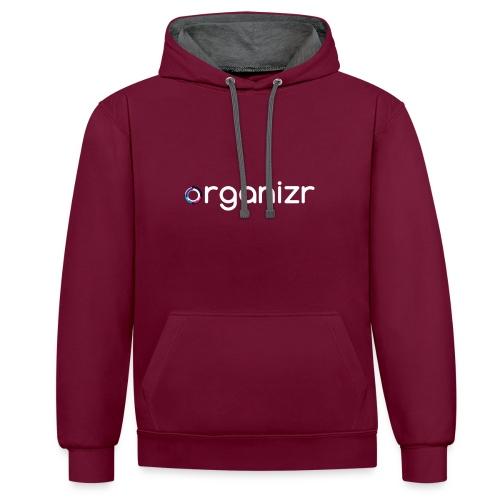 OrganizrSwag - Contrast Colour Hoodie