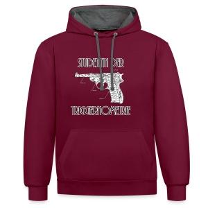 Studentin der Triggernometrie - Kontrast-Hoodie