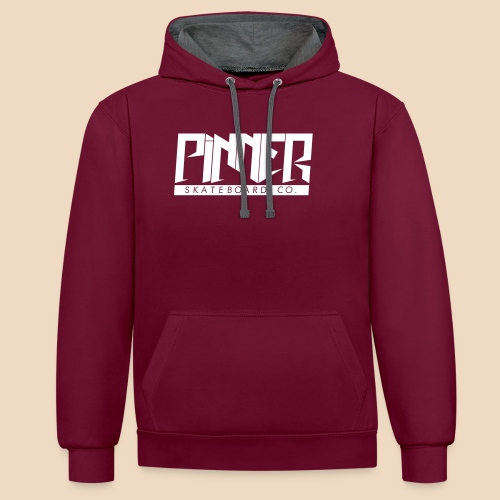 Pinner T¥PE - Contrast Colour Hoodie