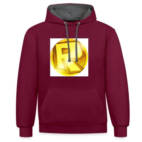Razzerzlogoshirt - Contrast Colour Hoodie