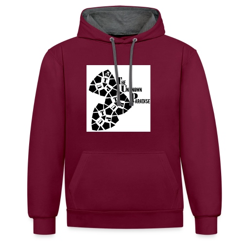 Camiseta Logo Standard The Unknown Paradise - Sudadera con capucha en contraste
