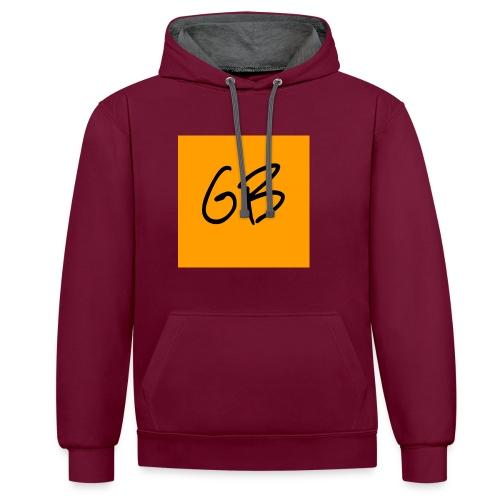 GB - Kontrast-hættetrøje