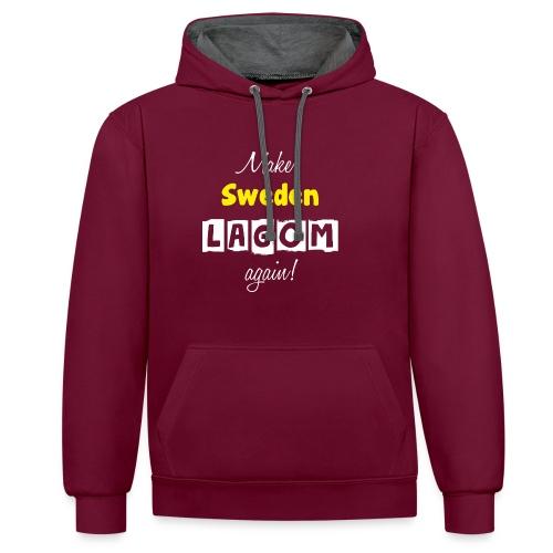 Make Sweden LAGOM again! - Kontrastluvtröja
