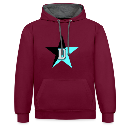 NoBeatGaming Logo - Contrast Colour Hoodie