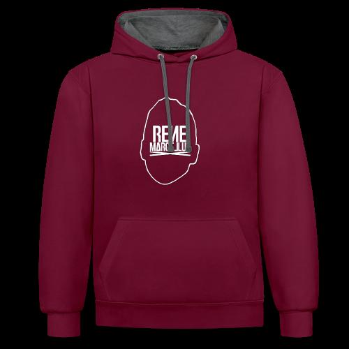 hoofdlogo - Contrast hoodie