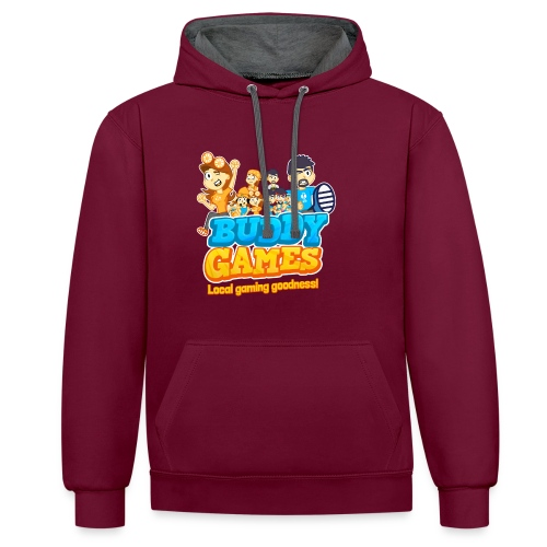 BuddyGames - Contrast Colour Hoodie