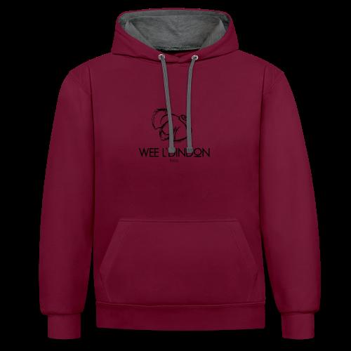 DINDON - Sweat-shirt contraste