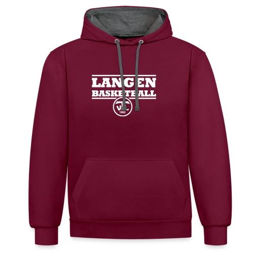 113799088 140717199 TV Langen Basketball - Kontrast-Hoodie