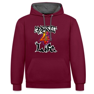 Graffiti 4 Life - Contrast Colour Hoodie