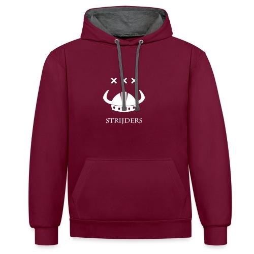 Strijders Original Design - Contrast hoodie