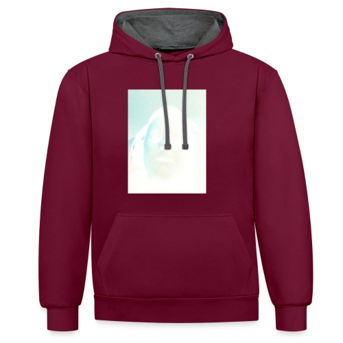 Boom - Contrast Colour Hoodie