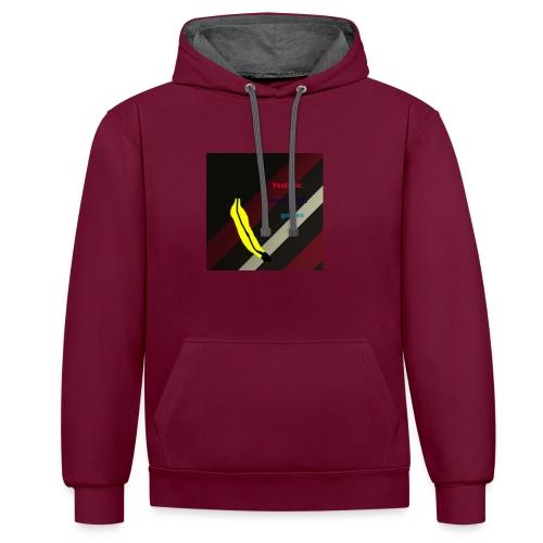 HCG Banaan - Contrast hoodie