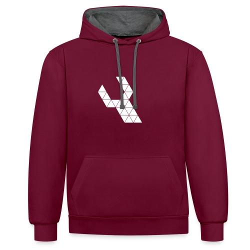 Repareer.com Basic Logo - Contrast hoodie