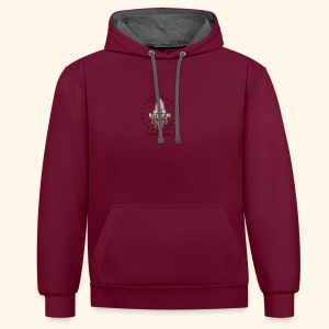 PRIDE OF LEIGH - Contrast Colour Hoodie