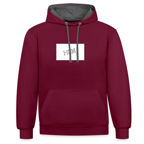 HGM MERCH - Contrast Colour Hoodie