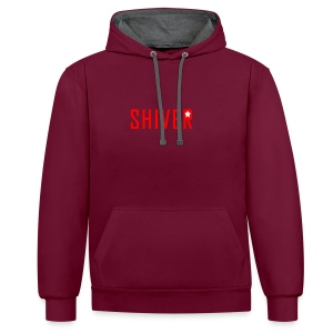 Shiver Logo - Contrast Colour Hoodie