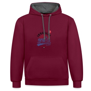 DownloadT-ShirtDesigns-com-2121724 Invaders - Contrast Colour Hoodie