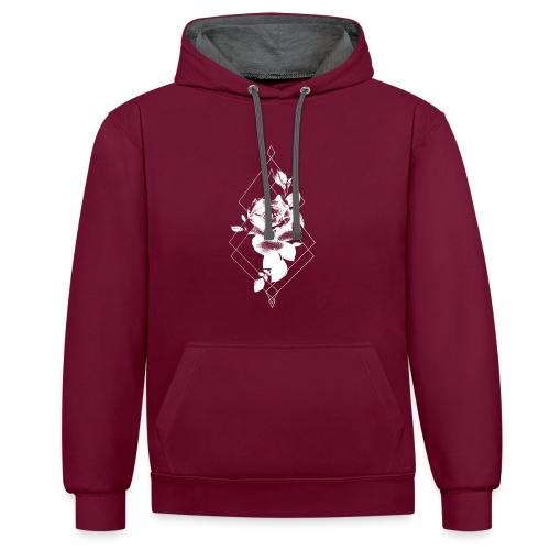 tattoorosewhite - Contrast hoodie