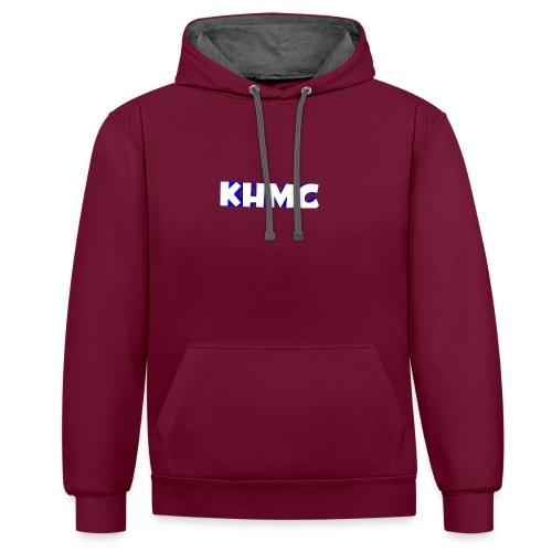 The Official KHMC Merch - Contrast Colour Hoodie