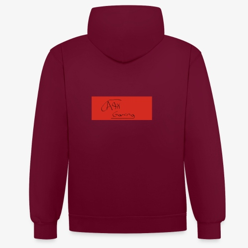 AliT Gaming signed - Contrast Colour Hoodie