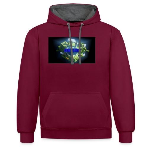 T-shirt SBM games - Contrast hoodie