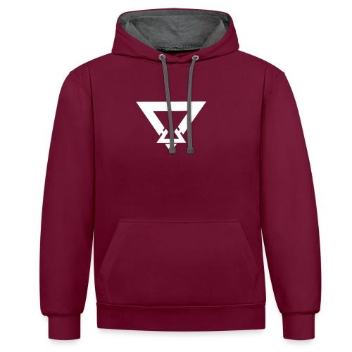 Jamie Cunningham Logo Design - Contrast Colour Hoodie
