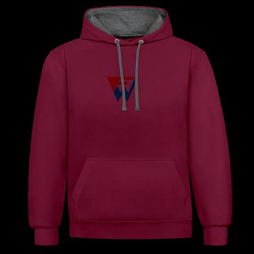 FW Logo - Contrast Colour Hoodie