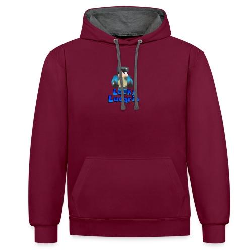 T-Shirt - Contrast Colour Hoodie