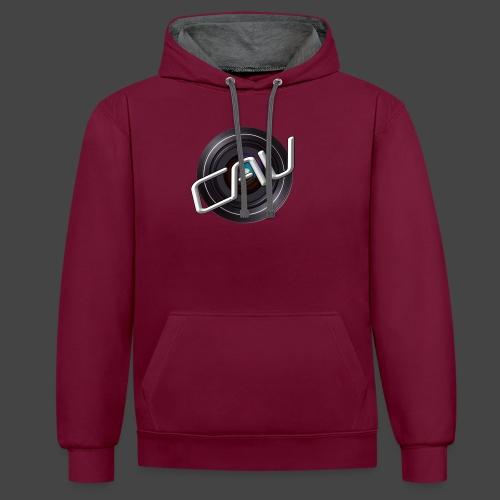 CAV-Logo - Kontrast-Hoodie