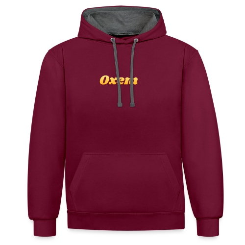 oxem logo 6 png - Sweat-shirt contraste