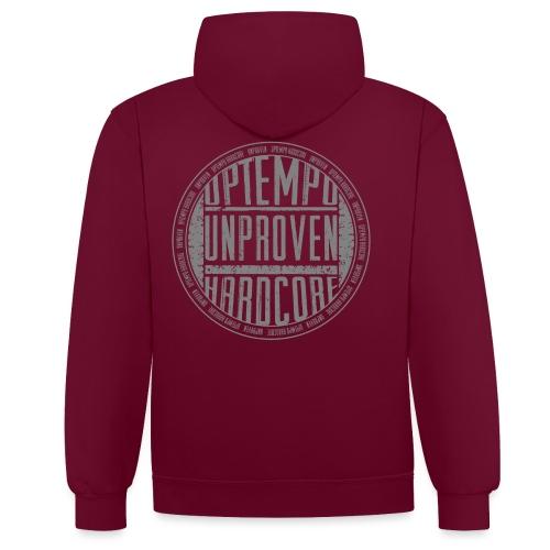 unproven Circle 06 - Contrast hoodie