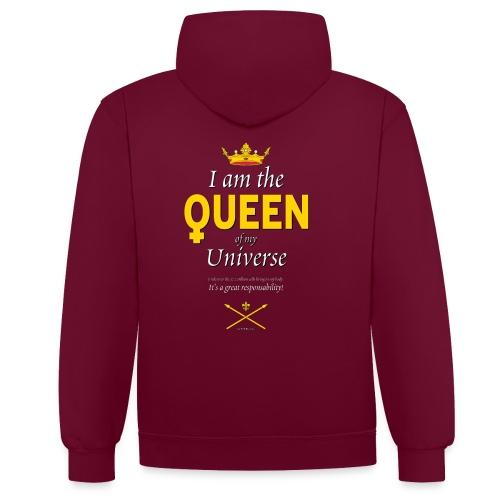 Royal Queen T-shirt - PAN Design - Drottning - Kontrastluvtröja