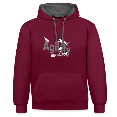 Agility unchained__ohne S - Kontrast-Hoodie