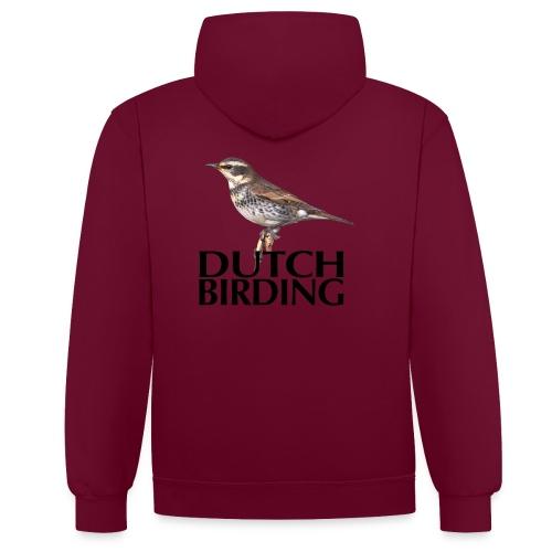 DB Bruinelijster - Contrast hoodie