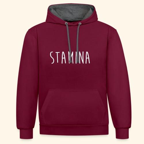 STAMINA - Sweat-shirt contraste
