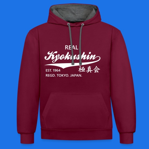 Kyokushin est 1964 - Contrast hoodie