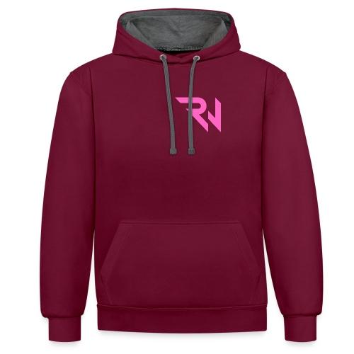 Ravewerk Raw - Contrast Colour Hoodie