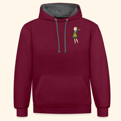 neutraal vrijstaand png - Contrast hoodie