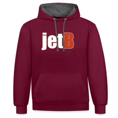 JETB MOK - Contrast hoodie
