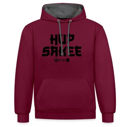 Hup Sakee - Contrast hoodie